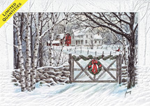 Friendly Farm Holiday Cards